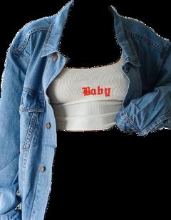 top jacket tops jackets denim freetoedit freetoeditremix