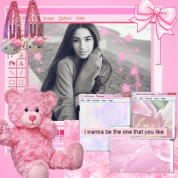 freetoedit pink collage cute cutie