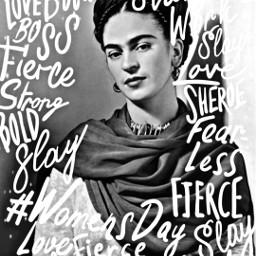freetoedit fridakahlo womensday rcwomensday IWD2020 WomensDayReplay