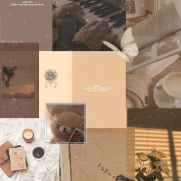 freetoedit background aesthetic brown brownaesthetic browncolor browntheme collage