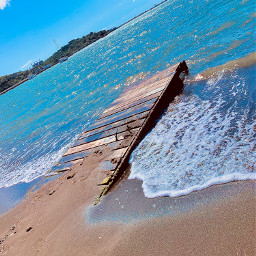 freetoedit myphoto landscape beach dock