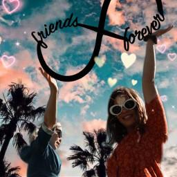 freetoedit bff forever friend love ircsoakingupthesun