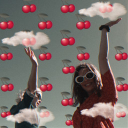 cherrys girlfriends clouds picsarteffects freetoedit ircsoakingupthesun