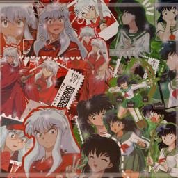 inuyasha kagomehigurashi inuyashaxkagome anime animeedit freetoedit