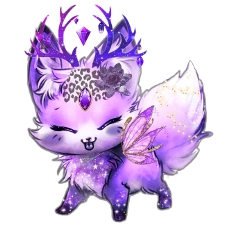 freetoedit fox lepoard deer fairy