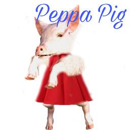 freetoedit peppapig realistic memes