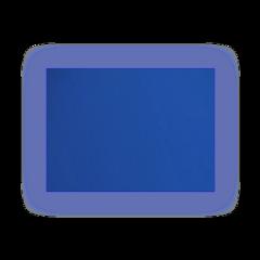 blue blureffect aesthetic