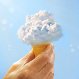 freetoedit clouds icecream🍦 icecream srcheadintheclouds headintheclouds