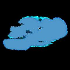 blue blueclouds clouds cloud fog ftestickers freetoedit