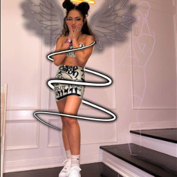 editedwithpicsart people wings halo spiral freetoedit