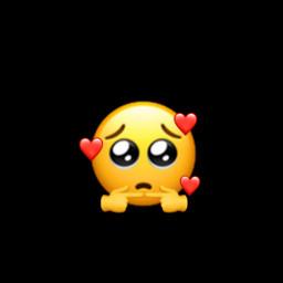 freetoedit shy emoji shyemoji emojiedit