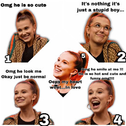 milliebobbybrown milliebobbybrownedit funny love fallinlove