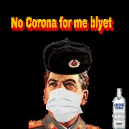 corona vodka slav stalin