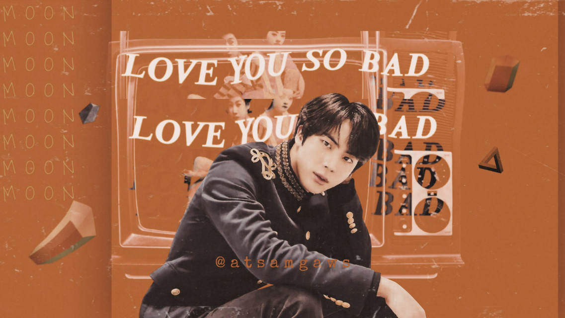 """""""Love you so bad""""  Bts/Jin  Ig: atsamgaws  ▪︎14th march,2020▪︎ I hope this virus ends soon... it's taking over the world so fast. Take care of yourself.   #bts #kimseokjin #seokjin #jin #edits #myedits #aesthetic #art #graphicdesign #kpop"""