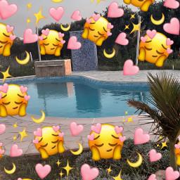 freetoedit myaestheticpool happytime heartemojis  💗my heartemojis