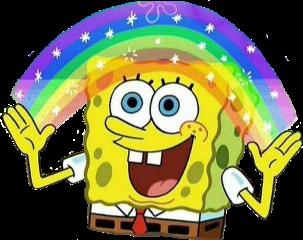 imagination spongebob spongebobsquarepants spongebobmemes reactionimage freetoedit
