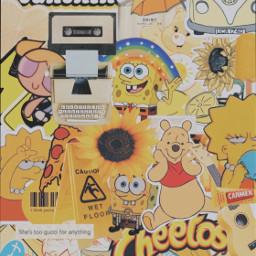 yellowaesthetic background yellowaestheticbackground yellowbackground aesthetic freetoedit
