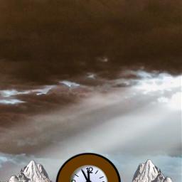 freetoedit backgroundsforyou backgrounds clock sky
