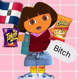 latina dora latinadora takis cheetos freetoedit