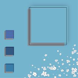 pasteltemplate blue template background pastel freetoedit