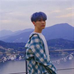 seventeen hoshi blue wallpaper