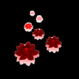 freetoedit red lotusflowers kellydawn