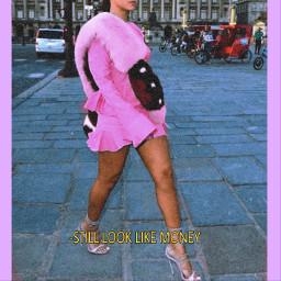 pink rihanna california money fashion