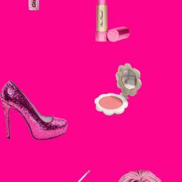freetoedit pink barbie burguesa burguesasafada