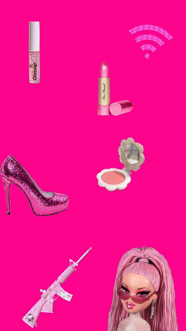 #freetoedit #pink #barbie #burguesa #burguesasafada #rica #walpaper #papeldepatede