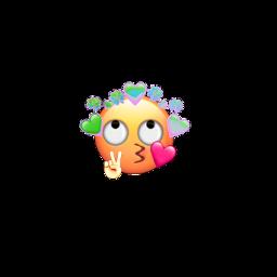 emoji freetoedit coração fofo kawai