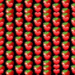 morango coração red vermelho freetoedit
