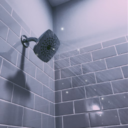 water shower aesthetic sparklesbrush sparkles