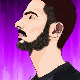 ac_digital_art portrait picsart picsartedit painting