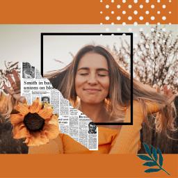 freetoedit orange girl rcorangeframe orangeframe replay