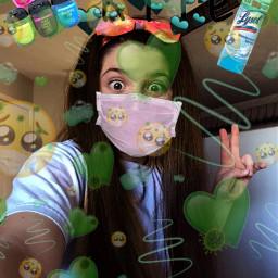 green corna fyp cornavirus freetoedit