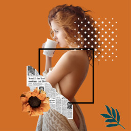 freetoedit orange orangeflower art фон orangeframe