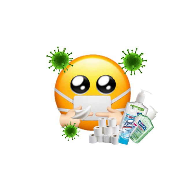 #coronavirus #sick #handsanitzer #discover #toiletpaper #emoji #2020