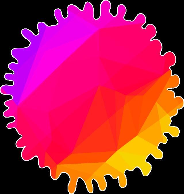 #splat #hexagon #picart #art #interesting #freetoedit