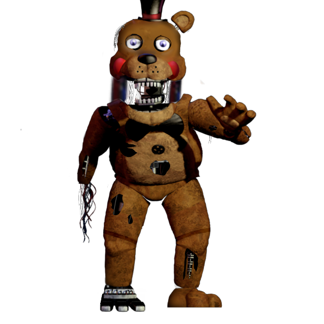 #fivenightsatfreddy's #fivenightsatfreddy's2 Withered Toy Freddy