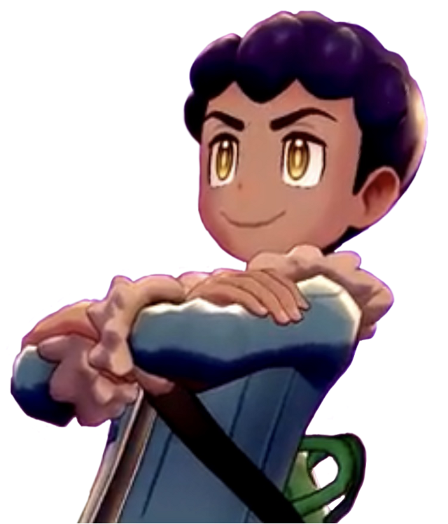 Instead of using a transparent picture of Hop, I decided to make things much harder for myself by finding a sprite from in the cutscene. I did my best to get rid of the sunset in the background. #pokemon #pokemonswsh #pokemonhop #pokemonswordandshield #freetoedit