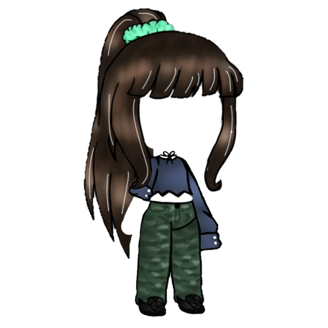 #gachalife #gacha #hair #outfit #aesthetic #cute #gachaoutfit #freetoedit