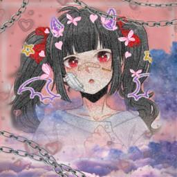 cute kawaii animeoc freetoedit