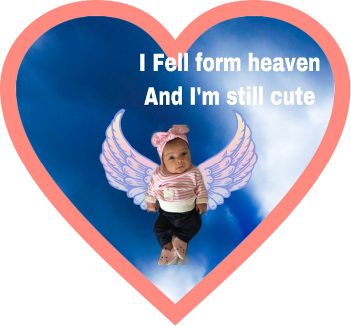 #freetoedit  baby I am so cute
