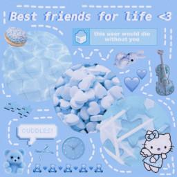 bestfriends bestfriend bff bffs pastel freetoedit