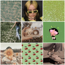 greenaesthetic green aesthrtic collage ccgreenaesthetic createfromhome stayinspired
