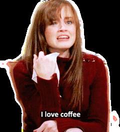 coffee rorygilmore sad ilovecoffee gilmoregirls freetoedit