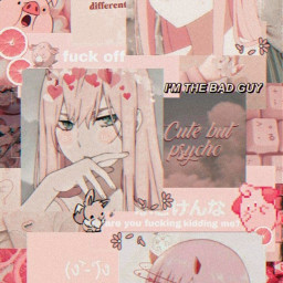 rezero aesthetic soft pink wallpaper