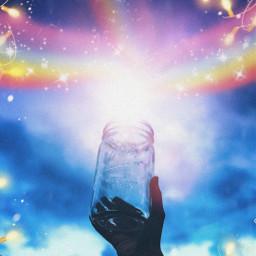 freetoedit vsco aesthetic raimbow🌈 lights