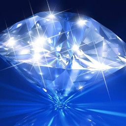 blue sparkling rhinestone diamond jewel