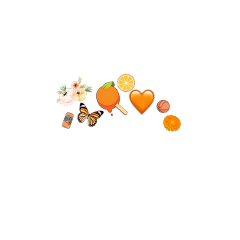 orange crown lazy aesthetic? freetoedit